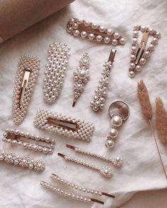 Fancy Jewellery, Stylish Jewelry, Cute Jewelry, Hair Jewelry, Girls Hair Accessories, Bridal Accessories, Jewelry Accessories, Fashion Accessories, Accesorios Casual