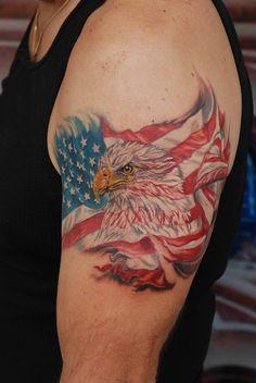 Eagle Tattoos Tatoo Bull S Angel