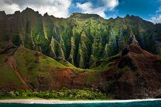 "Napali Coast, Kauai - ""dreamland"" by Ali Erturk, via 500px"