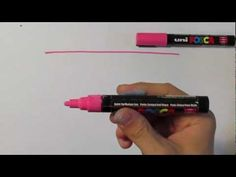 How To Refill or Recycle Posca Paint Pens - YouTube