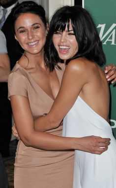 Emmanuelle Chriqui & Jenna Dewan-Tatum: The Big Picture: Today's Hot Pics