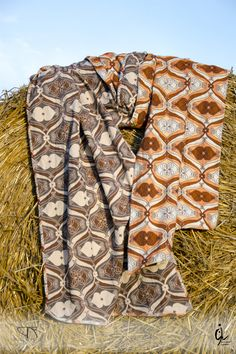 """Witches' Wraps babyslings - """"Retro hearts bloom"""" - 100% combed cotton"""