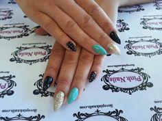 Love these nails and color Get Nails, Love Nails, Pink Nails, How To Do Nails, Pretty Nails, Nail Tattoo, Nail Candy, Nail Manicure, Nail Polish