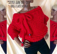 """Купить Объёмный свитер из коллекции """"Style and the city"""" от Olga Lace - вязаный свитер"""