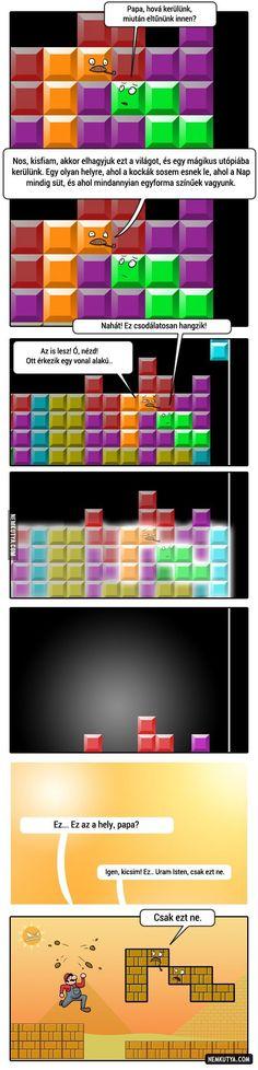 A Tetris-Túlvilág