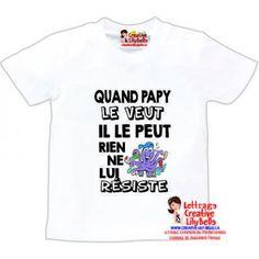 T-shirt Bébé I love ma Maman le lait et le Rock/'n/'Roll naissance fille garçon