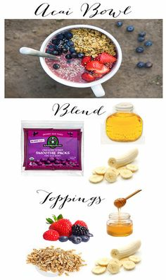 Acai Berry Bowl  |  The Dumbbelle http://thedumbbelle.com/acai-berry-bowl/