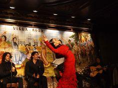 Flamenco in Spain:check La Villa Rosa in Madrid