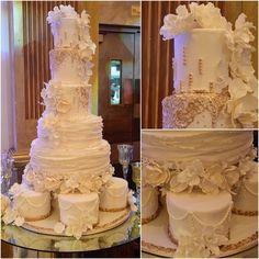 Congratulations @arthurmisterx & @oceanloveeee!  #specialcakes #specialcakesla #specialcakesbyruben #love #wedding #weddingcakes #weddingwonderland #losangeles #beverlyhills #studiocity #hollywood #instLA #instacakes #cakegod #cakegram #beautiful #bestcakes #bestcakeever #yummy #delicious #design #gold