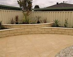 curved edge patio - Bing images