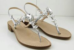 Capri sandals  Princess collection dea sandals Hand made jewel  sandals Shop online www.sandalscapri.com