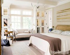 Bedroom in Smokey Neutrals