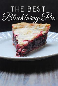 The Best Blackberry Pie