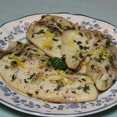 Lemon Garlic Tilapia Recipe - Add a little salt and you have a deliciously easy and healthy main course for dinner. #myplate