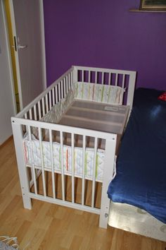 convert ikea crib to co sleeper baby pinterest baby cribs and ikea crib. Black Bedroom Furniture Sets. Home Design Ideas