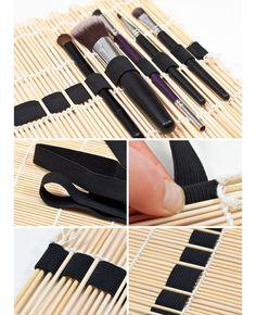 DIY Makeup Brush Storage - DIY Makeup Organizer Ideas