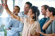 Sharing a vision of success royalty-free stock photo