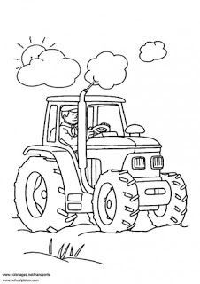 Coloriage Tracteur Imprimer Gratuitement Coloriage Tracteur Pour Enfants Coloriage Enfants Gratuiteme Ausmalbilder Jungs Ausmalbilder Ausmalbilder Traktor