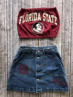 0c9543cf36 Florida State Seminoles T-Shirt Tube Top   Tailgate Clothing   Game Day Top    College Clothing   FSU   Florida Gift   Graduation Gift