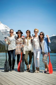 Boho Mountain Bachelorette from Naturally Chic + Willow Flower Co. Canada Mountains, Rocky Mountains, Willow Flower, Ways To Destress, Weekend Getaways, Bridesmaid Dresses, Bridesmaids, Wedding Blog, Besties