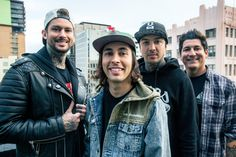 """vicfuentesblog: """" """"We're Pierce the veil and we're about to drop the most fire mixtape"""" """""""