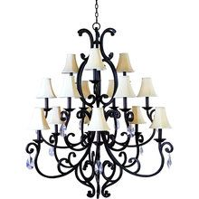 View the Maxim MX 31007 Traditional / Classic 15 Light Chandelier from the Richmond Collection at Build.com.
