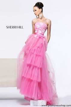 Sherri Hill 11023 at Prom Dress Shop