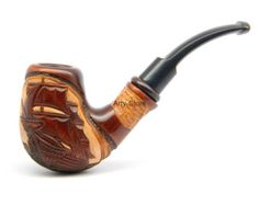 Pipa de fumar tabaco Dragon filtro de 9mm talladas por ArtyStore