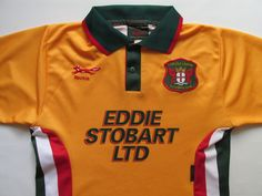 2081ce1c2 Carlisle united 1996 1997 away football shirt jersey england vtg red fox  size s