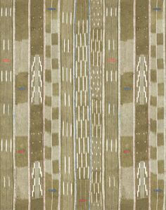 Madison Stripe Large by Chris Benz - Tan