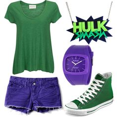 Superhero party. The Incredible Hulk. Costume ideas.