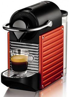 Arab Mall مول العرب Nespresso نسبرسو Pixie C60 Eu ماكينة صنع الاسبرسو الكهربائية لون أحمر Capsule Coffee Machine Nespresso Best Espresso Machine
