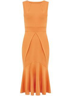 Orange Fishtail Fabulous Dress!