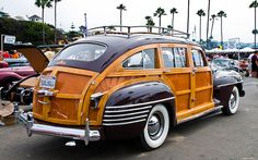1942 Chrysler Town and Country Barrel Back Station Wagon