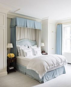 You won't believe this home transformation completed by designer, CeCe Barfield Thompson including before and after photos of a New York City pied-à-terre. Home Interior, Interior Design, Interior Livingroom, Interior Modern, Interior Ideas, Interior Inspiration, French Country Bedrooms, Home Decor Quotes, Guest Bedrooms