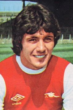 Frank Stapleton of Arsenal in 1979.