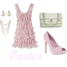 Pink Easter, created by meredith723  outfit