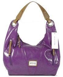 Kenneth Cole Reaction Women:s Handbag Star Struck Hobo Style 1210 (Purple)