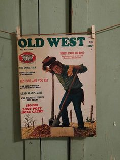 For sale at Retrophoria.com, $25.00 - Magazine about American West