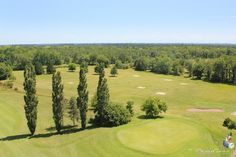 Golf de Mont de Marsan, Landes, Aquitaine, France. Vidéo aérienne sur FlyOverGreen / Aerial video on FlyOverGreen