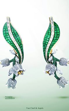 Van Cleef & Arpels Lilly of the Valley Earrings