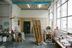 Freunde von Freunden — Itamar Gilboa — Artist, Studio, Amsterdam, Netherlands —