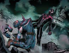 Черный Человек-Паук убьет Капитана Америка вовторой «Гражданке»?…
