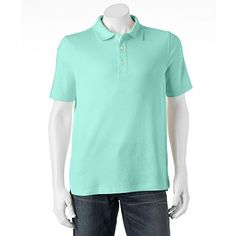Croft & Barrow® Classic-Fit Solid Easy-Care Polo - Big & Tall Donovan shirt