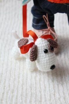 Вяжем миниатюрную собачку амигуруми - Ярмарка Мастеров - ручная работа, handmade