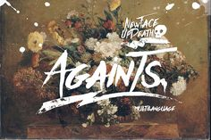 Againts Typeface (update) by celcius design on Creative Market