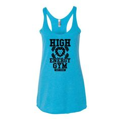 High Energy Gym Women's #trump #donaldtrump #trump2016 #workout #gymshirt