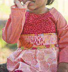 Free pattern: Pumpkin Pie dress for little girls · Sewing   CraftGossip.com
