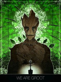 I am in awe of Groot