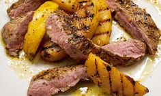 Hugh Fearnley-Whittingstall's hot lamb and quince salad